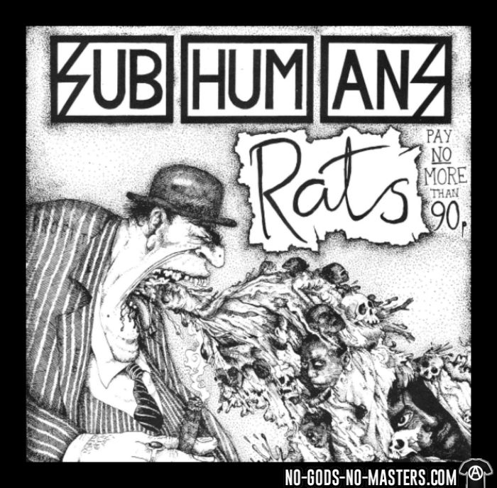 Subhumans - Rats - T-shirt Band Merch