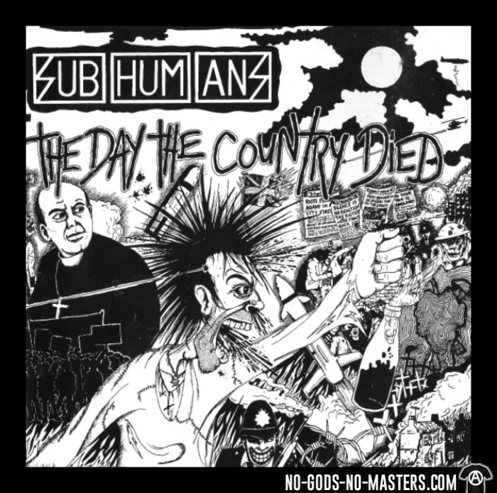 Subhumans - The day the country died - Débardeur pour homme Band Merch