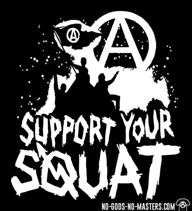 Support your squat - T-shirt Militant