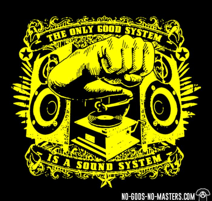 The only good system is a sound system - Sweat à capuche (Hoodie) Ska