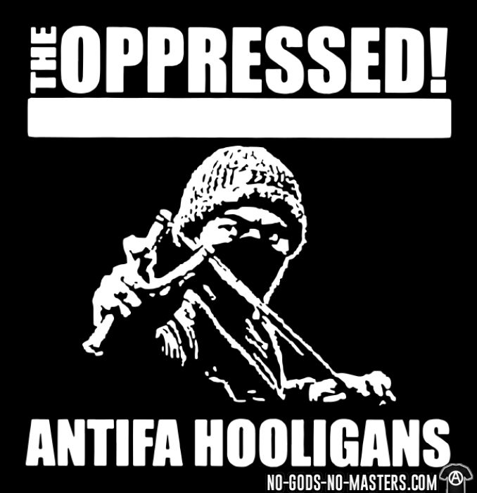 The oppressed - Antifa hooligans - Chandails à manches longues Band Merch