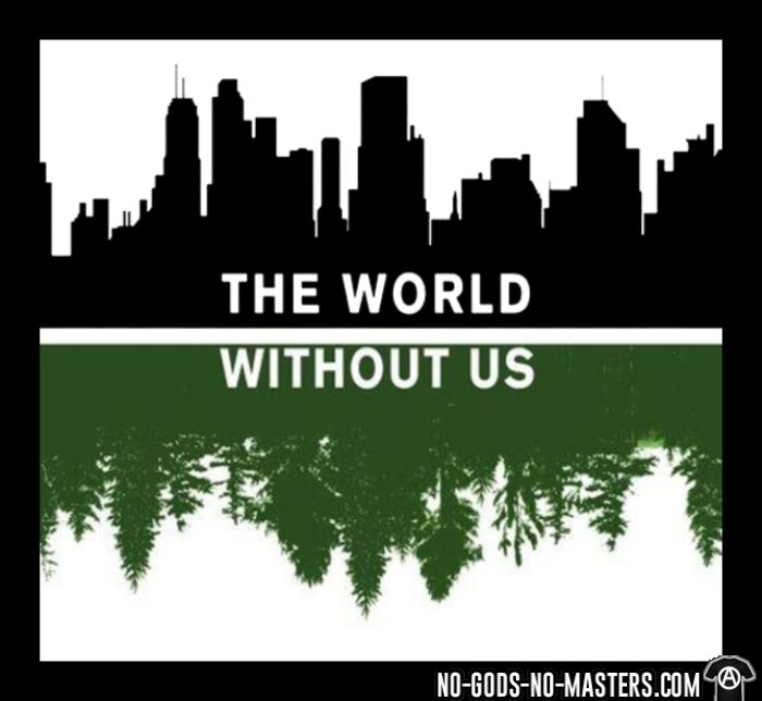 The world without us - Sweat à capuche (Hoodie) Environnementaliste