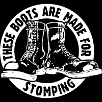 These boots are made for stomping - T-shirt Skinhead