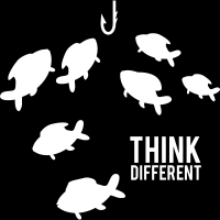 Think different - T-shirt humour engagé