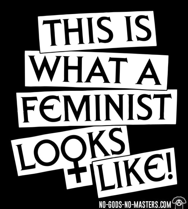 This is what a feminist looks like - T-shirt Féministe