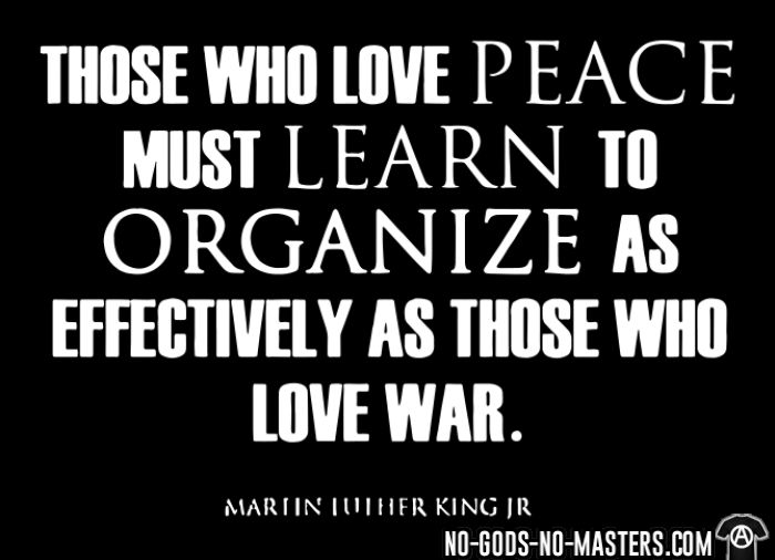 Those who love peace must learn to organize as effectively as those who love war - Martin Luther King Jr. - Black Lives Matter T-shirt