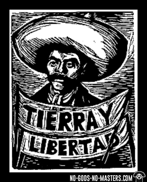 Tierra y libertad - Sweat zippé Zapatiste