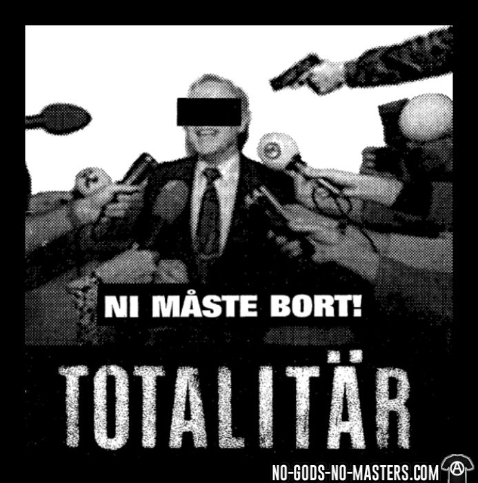 Totalitar - Ni maste bort!  - T-shirt Band Merch