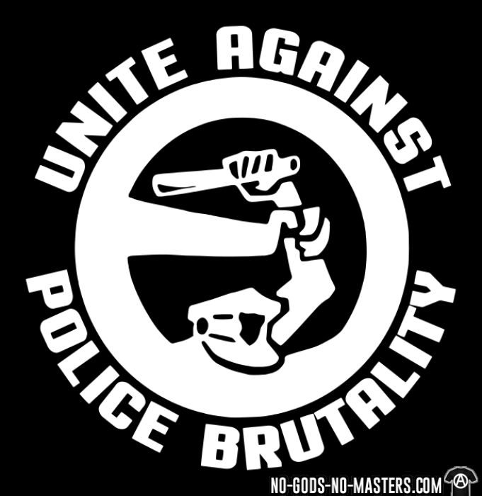 Unite against police brutality - T-shirt ACAB anti-violence-policiere