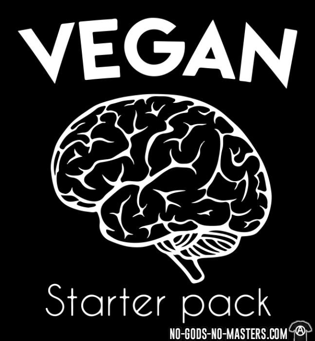 Vegan starter pack  - T-shirt véganes et libération animale