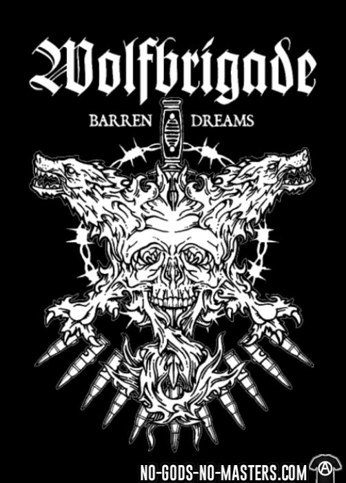 Wolfbrigade barren dreams - T-shirt Band Merch