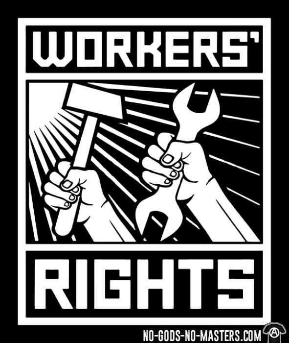 Workers' rights - Débardeur pour femme Working Class