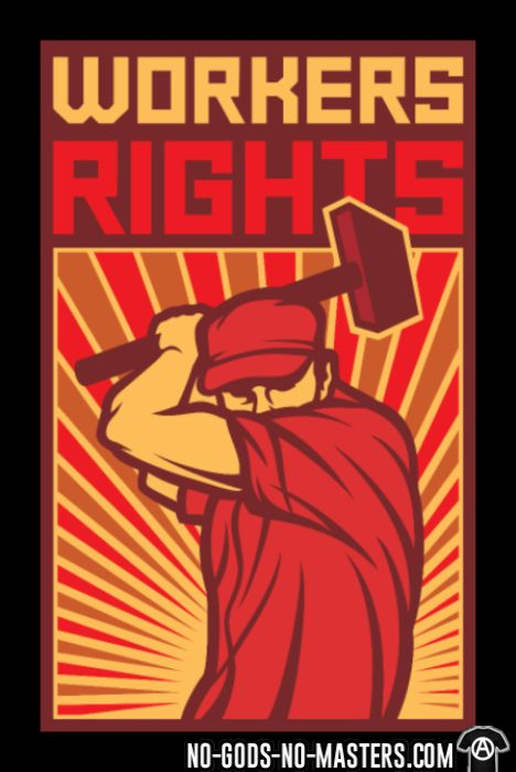 Workers rights - T-shirt Working Class