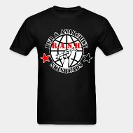 T-shirt R.A.S.H. Red & Anarchist Skinheads