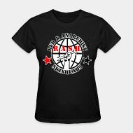 T-shirt féminin R.A.S.H. Red & Anarchist Skinheads