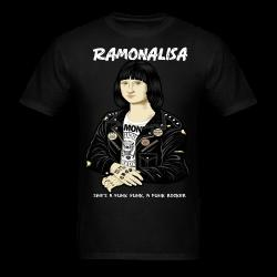 Ramonalisa she's a punk punk, a punk rocker Humor - comedy - funny - satirical - meme - joke