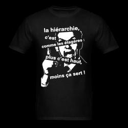 La hiérarchie c'est comme les étagères: plus c'est haut, moins ça sert! Politics - Anarchism - Anti-capitalism - Libertarian - Communism - Revolution - Anarchy - Anti-government - Anti-state