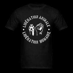 Libération animale - libération humaine Animal liberation - Vegetarian - Vegan - Anti-specism - Animal cruelty - Animal testing - Animal liberation front - ALF - Vivisection - Animal experim