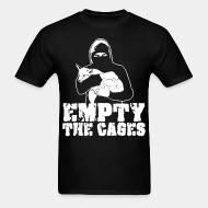 T-shirt standard unisexe Empty the cages