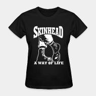 T-shirt féminin Skinhead a way of life