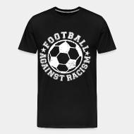 T-shirt Xtra-Large Football against racism