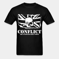 T-shirt standard unisexe Conflict - The ungovernable force