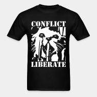 T-shirt Conflict - liberate