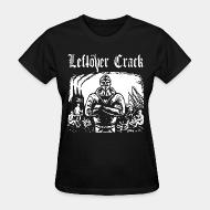 T-shirt féminin Leftover Crack