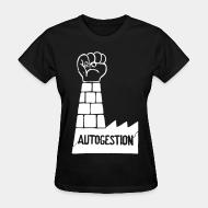 T-shirt féminin Autogestion