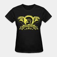 T-shirt féminin The pride of Jamaica reggae fever