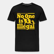T-shirt Xtra-Large Refugees welcome - no one is illegal