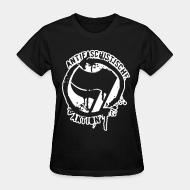 T-shirt féminin Antifaschistische aktion