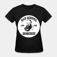 T-shirt féminin PROUDHON - Old school anarchist 1809-1865