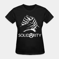 T-shirt féminin Solidarity