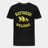 T-shirt Xtra-Large Refugees welcome