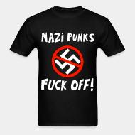 T-shirt Nazi punks fuck off!