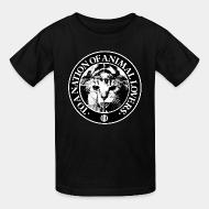 T-shirt enfant Conflict - To a nation of animal lovers