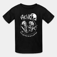 T-shirt enfant Acidez - Revolution is my destiny