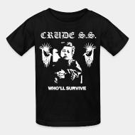 T-shirt enfant Crude S.S. - Who'll survive