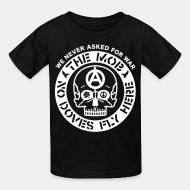 T-shirt enfant The Mob - No doves fly here / We never asked for war