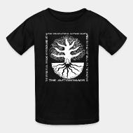 T-shirt enfant The Autonomads - The foundations mother earth