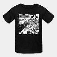 T-shirt enfant Subhumans - The day the country died