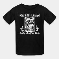 T-shirt enfant Mischief Brew - Boiling breakfast early
