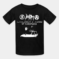 T-shirt enfant Axiom - Establishing a culture of resistance