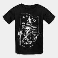 T-shirt enfant Makhnovtchina - Death to all who stand in the way of obtaining the freedom of working people!