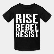 T-shirt enfant Rise Rebel Resist