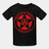 T-shirt enfant Rise-up resist revolt