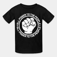 T-shirt enfant All power to the people