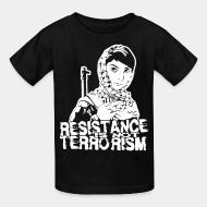 T-shirt enfant Resistance is not terrorism