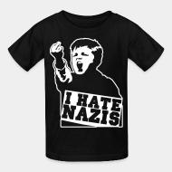 T-shirt enfant I hate nazis